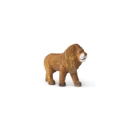 ferm Animal handgeschnitzter Löwe