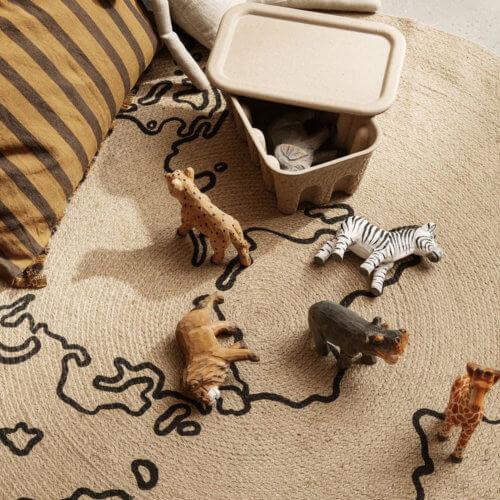 ferm Animal handgeschnitzte Tiere