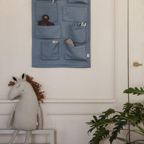 ferm Safarki Kissen Pferd Natur, sitzend