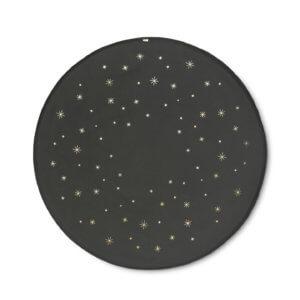 ferm Weihnachtsbaum-Teppich STAR Dunkelgrün