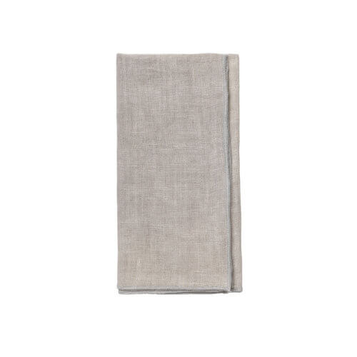 Cozy Living Leinenserviette Taupe