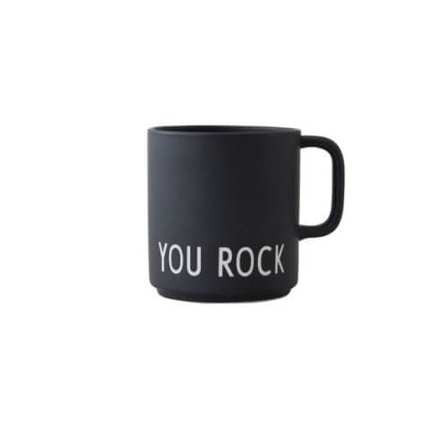 Design Letters YOU ROCK Becher mit Griff