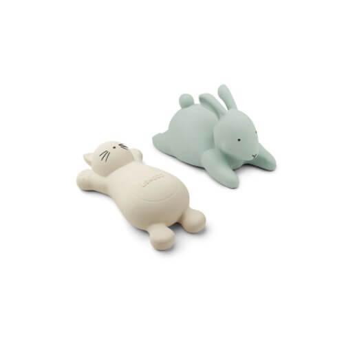 LIEWOOD 2er-Set Badespielzeug Hase