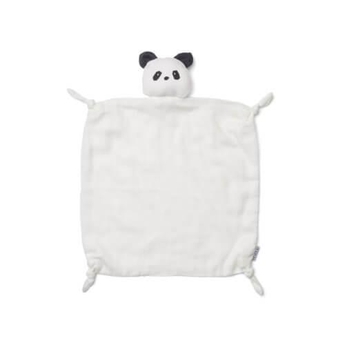 LIEWOOD Schnuffeltuch Panda Cremé