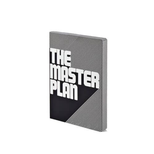 Nuuna Masterplan Notizbuch Graphic L