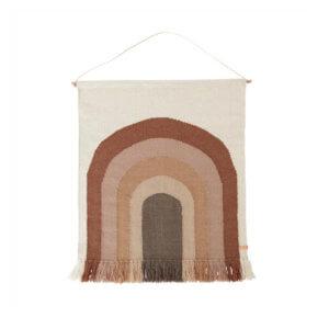 OYOY Wand-Teppich Regenbogen