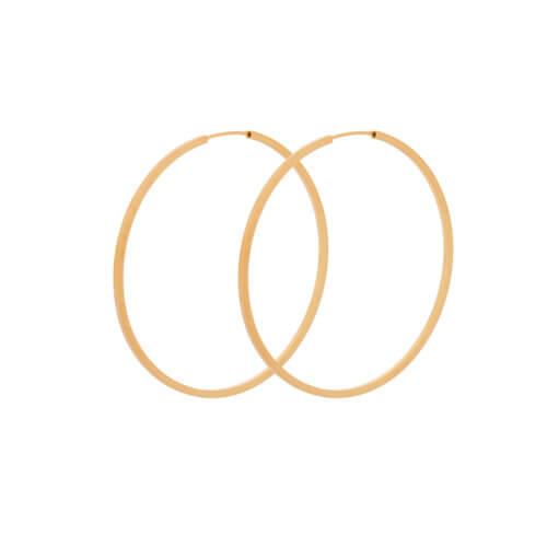 Pernille Corydon Creolen Orbit Golden L