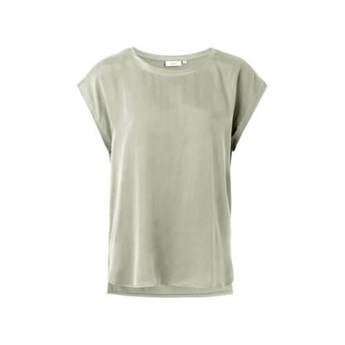 YAYA Cupro-Shirt Salbei