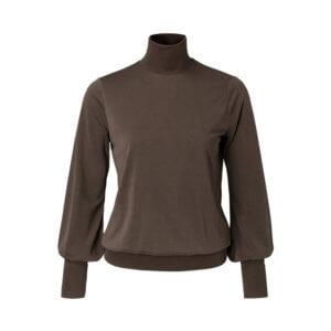 YAYA Modal-Shirt Braun