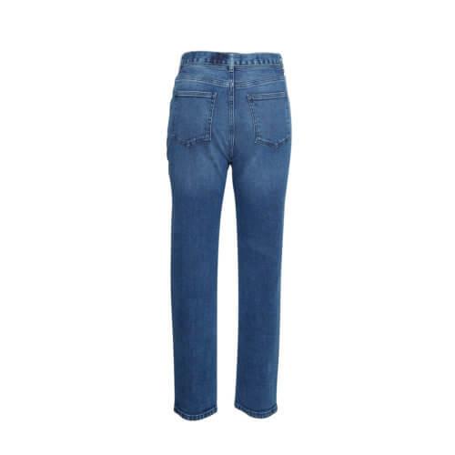 Moss Copenhagen Mom-Jeans Blau, Rückansicht