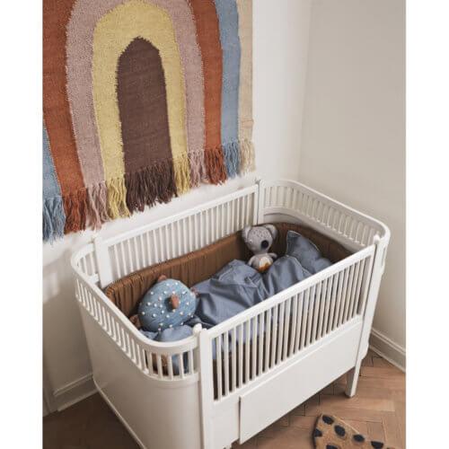 OYOY Wand-Teppich Regenbogen Pastell