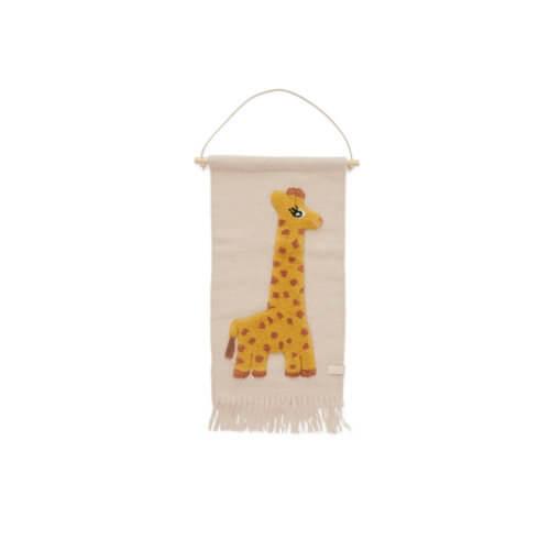 OYOY Wand-Teppich Giraffe