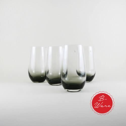 Broste B-Ware Trinkglas Smoke Groß 4er Set