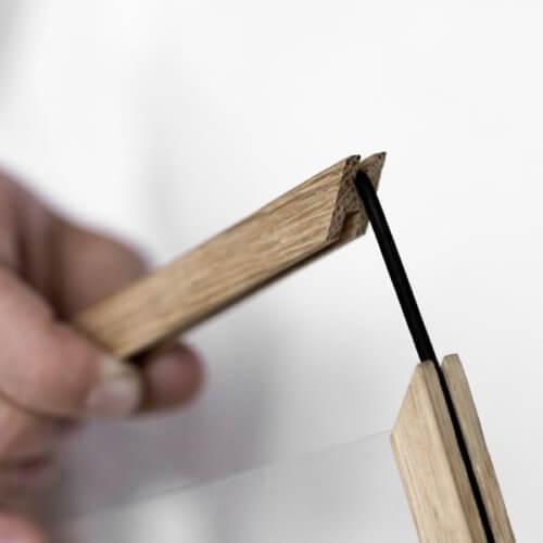 Moebe Bilderrahmen Holz A4
