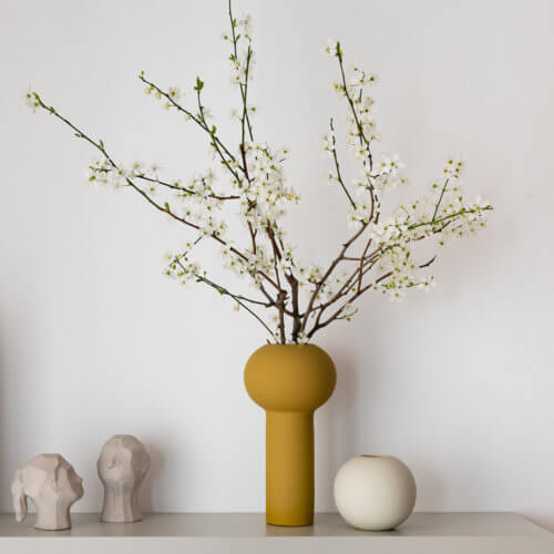 Cooee Vase Ball Beige