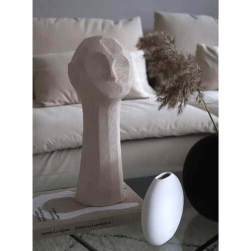 Cooee Vase Pastille Weiß