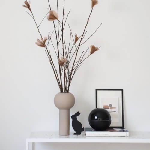 Cooee Vase Pillar Beige L