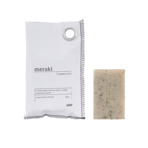 Meraki Handseife Sesame Scrub 100g