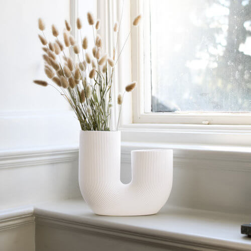 Storefactory Vase Stravalla Weiß