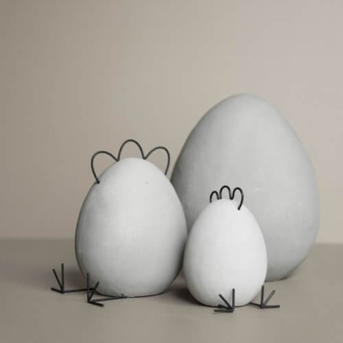 DBKD Osterei Grau Heavy Egg