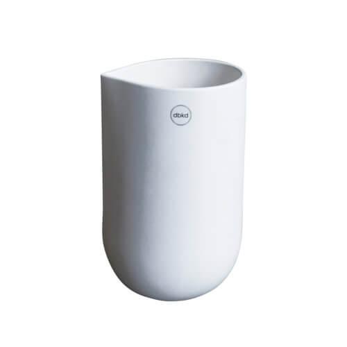 DBKD Vase NIB Weiß