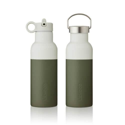 LIEWOOD Wasserflasche Neo Oliv
