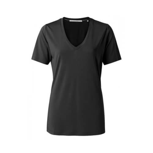 YAYA Modal-Shirt Weiß