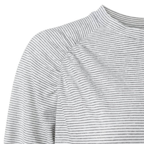 YAYA Shirt Weiß-Gestreift