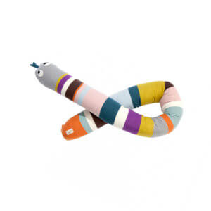 ferm Living Kissenrolle Mr.Snake