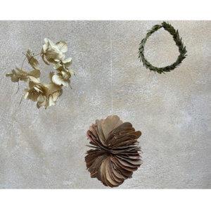 Girlande aus Trockenblumen Aro
