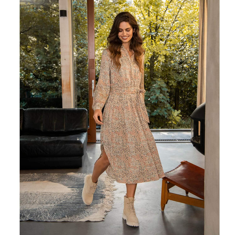 Yaya Kleid Mit Blumenprint 4 Versch Grossen Mehr Yaya Im Shop