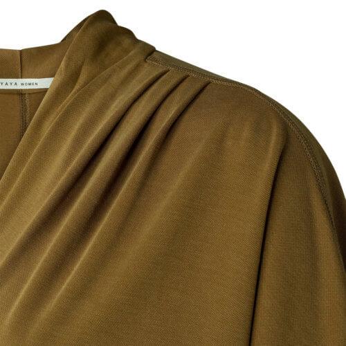 YAYA Modal-Kleid Ocker