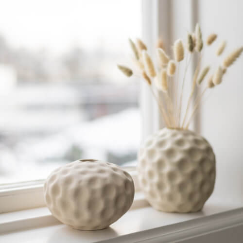 Cooee Vase Seepod Vanilla