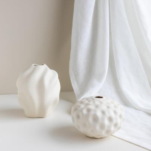 Cooee Vase Seepod Vanilla S