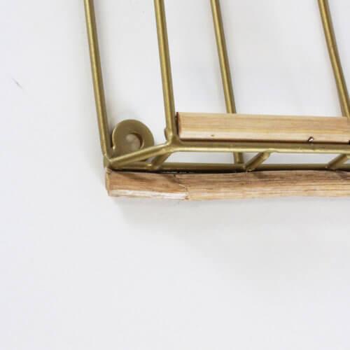 Madam Stoltz Kartenhalter 6 Fächer B-Ware, Detail