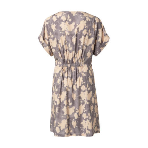 YAYA Gürtel-Kleid mit Blumenprint