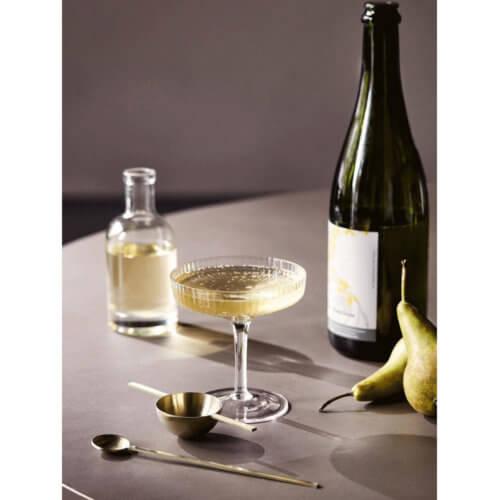 ferm Ripple Champagnerschale Klar Mood