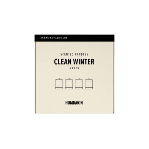 Humdakin Duftkerzen-Set Clean Winter