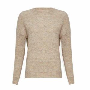Moss Copenhagen Mohair-Pullover Oatmeal