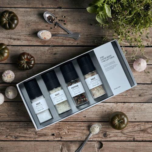 Nicolas Vahé Geschenkbox Salz Favoriten