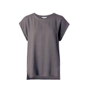 YAYA Cupro-Shirt Taupe