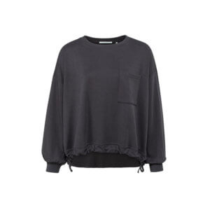 YAYA Modal Sweater Anthrazit
