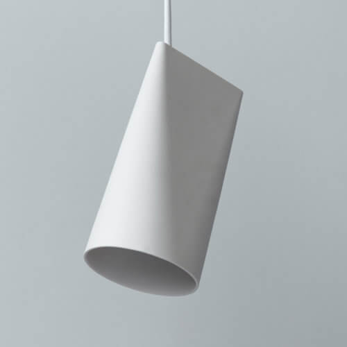 Moebe Lampe Keramik S Weiß