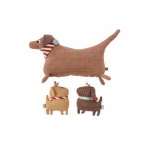 OYOY Kuscheltier-Set Hund