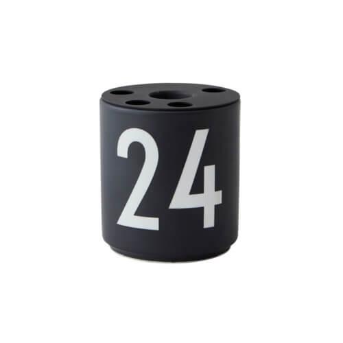 Design Letters Becher 24 mit Kerzeneinsatz