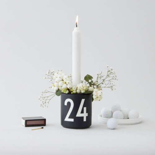 Design Letters Becher 24 mit Kerzeneinsatz Mood