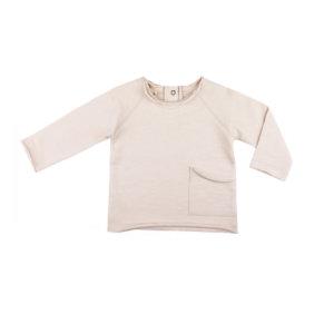 Phil&Phae Baby-Sweater Raw Edged Creme