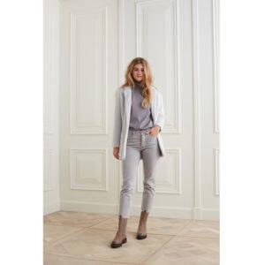 YAYA Denim-Jeans Highwaist Grau