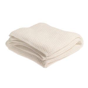 Storefactory Knitted-Decke Weiß